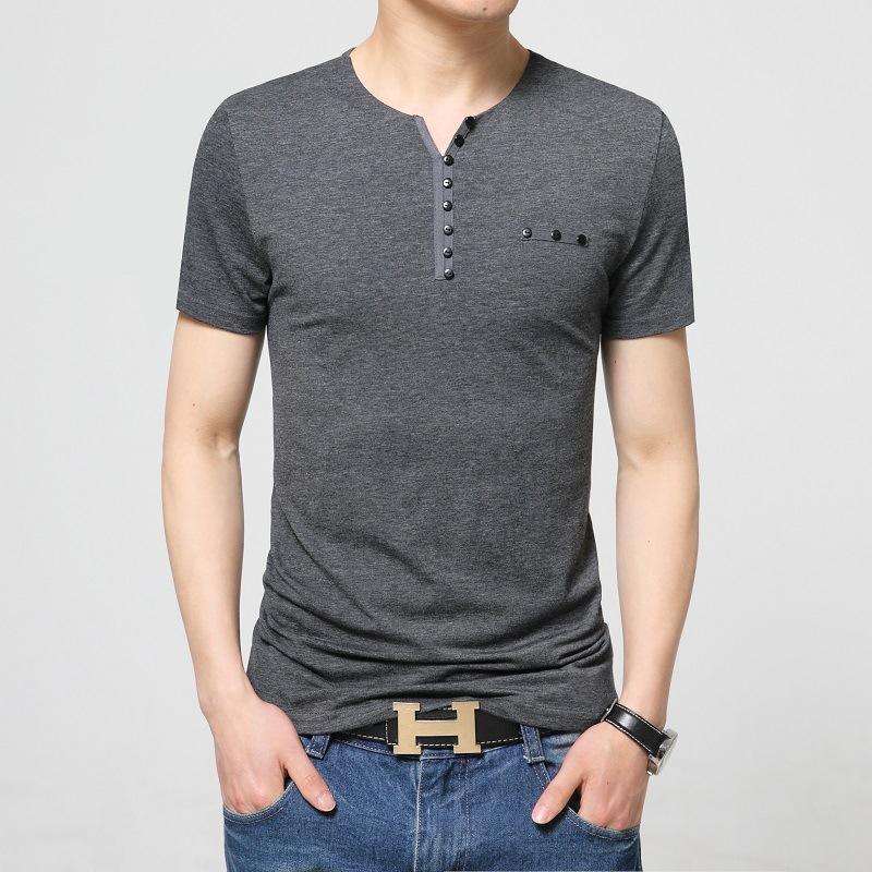 17 designs mens t shirt slim fit crew neck t shirt men for Fitted short sleeve dress shirts for men