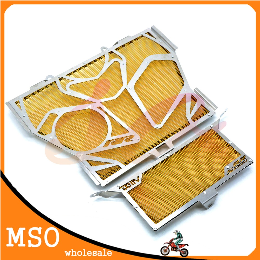 Фотография yellow Motorcycle Accessories motorcycle radiator cover motorcycle grille guard protector For BMW S1000RR two colors optional