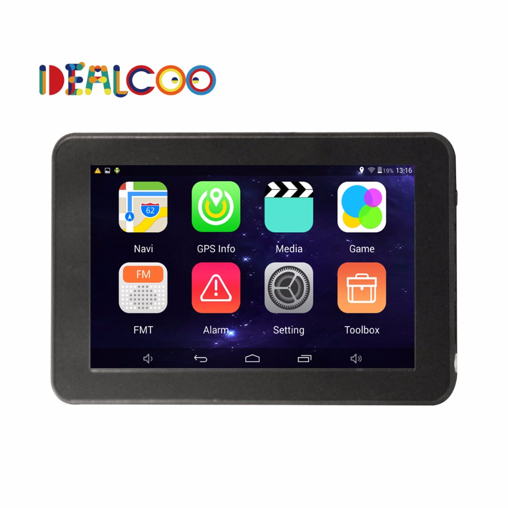 7 Inch Car GPS Navigation Android 4.4 Quad-Core WIFI/FM tablet pc Truck vehicle gps Navigator Navitel Israel Europe Map Free(China (Mainland))