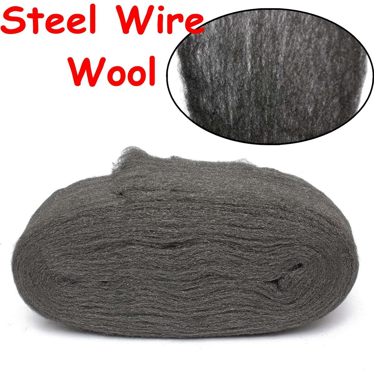 New Steel Wire Wool Grade 0000 33cm For Polishing Cleaning Removing Remover Non Crumble(China (Mainland))