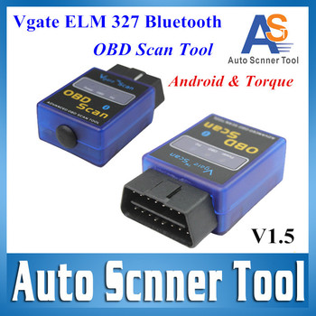 Vgate ELM327 Bluetooth OBD Scan Tool ELM327 Bluetooth MINI Works on Android / Torque Vagte327 CNP Free