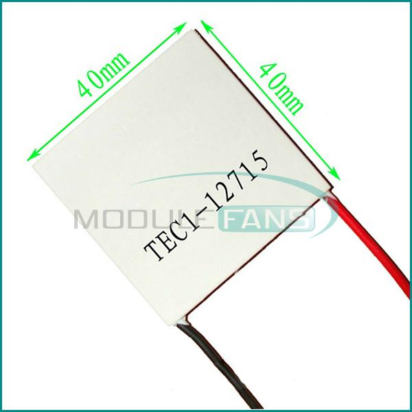 TEC1-12715 Heatsink Thermoelectric Cooler Cooling Peltier Plate Module(China (Mainland))