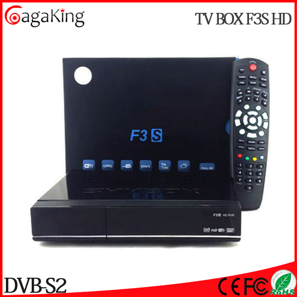 Supermax TV BOX F3S Satellite receiver F3 HD cccam receiver satellite TV card share Satellite smart CCCAM cart sharing(China (Mainland))