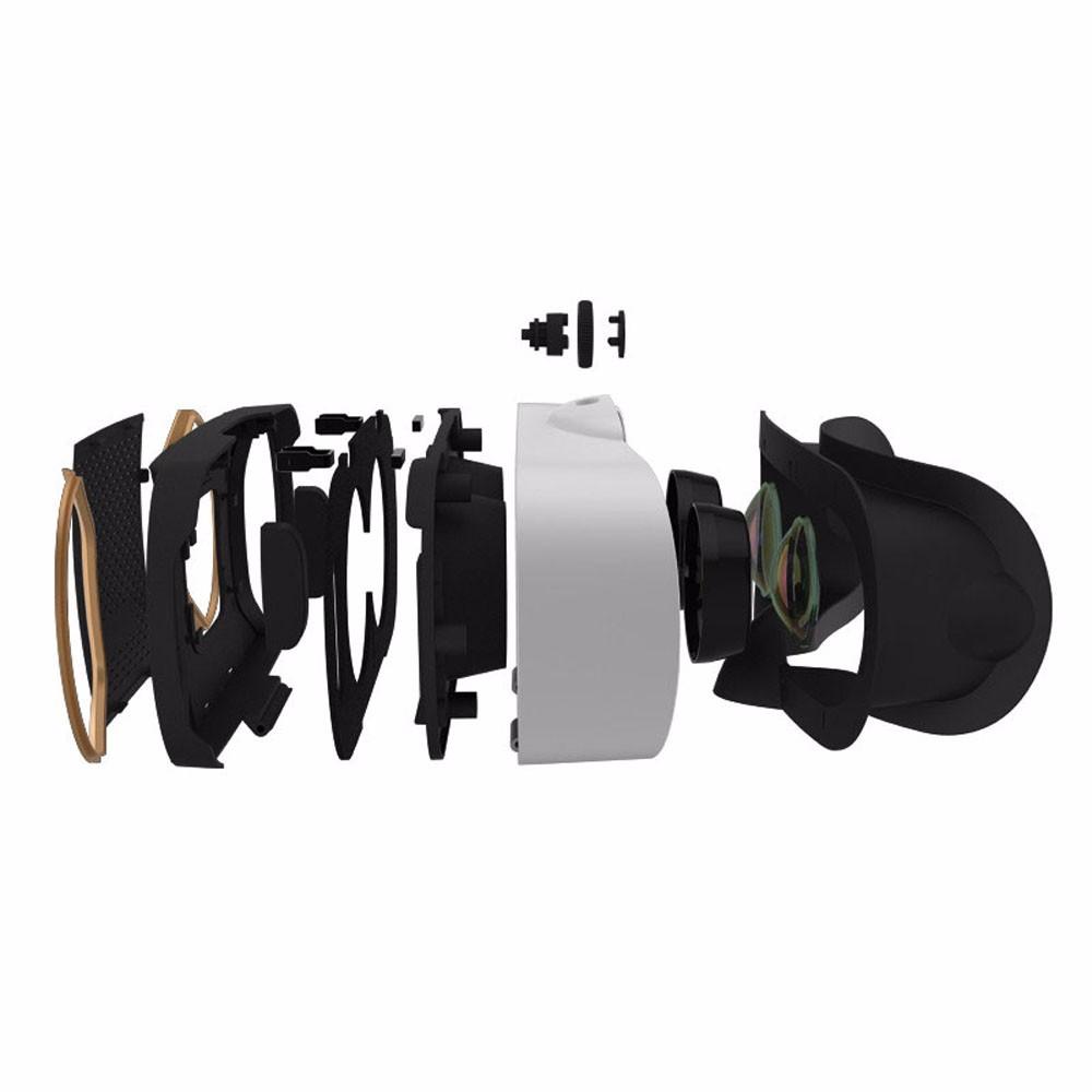 """ถูก มาใหม่B Aofeng Mojing 4 IVความจริงเสมือน3D VRแว่นตาหมวกกันน็อคสำหรับ4.7 ~ 6 """"Iphone IOSเสมือนแว่นตาวิดีโอเพิ่มควบคุม"""