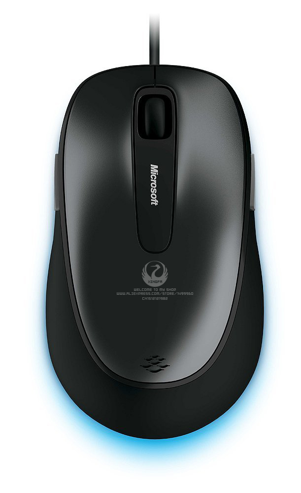 Genuine Original Guaranteed Microsoft Comfort Mouse 4500 3D USB Blue Track Wired Mouse For Desktop Laptop Free Shipping(China (Mainland))