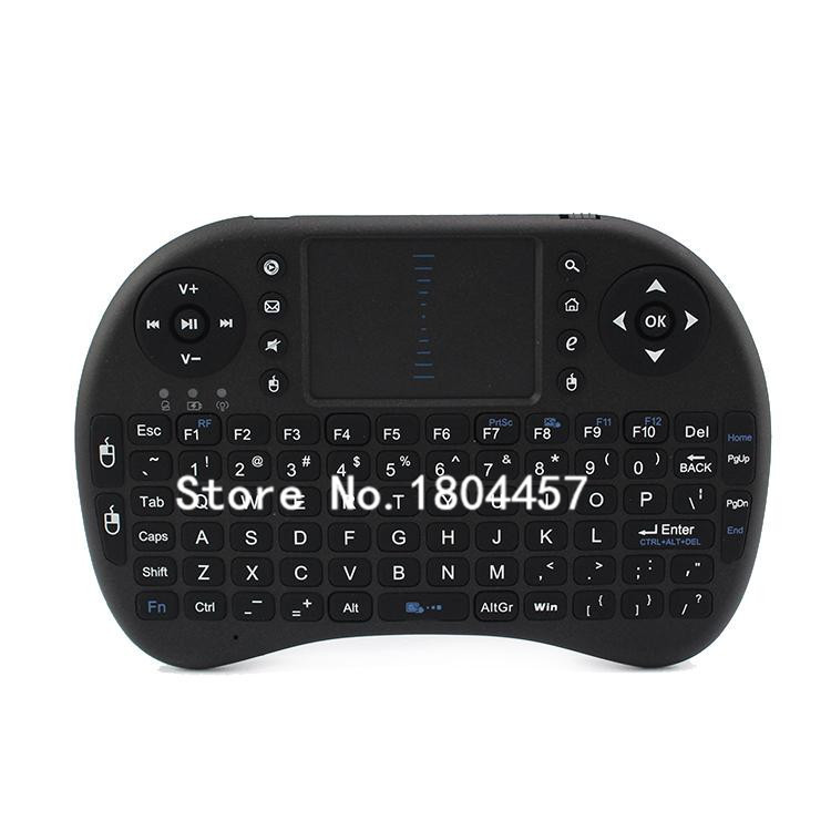 Free Shipping 2.4GHz i8 Mini Wireless Entertainment Keyboard with Touchpad for Windows/Mac OS X/Linux/Google TV/HTPC/Xbox 360(China (Mainland))