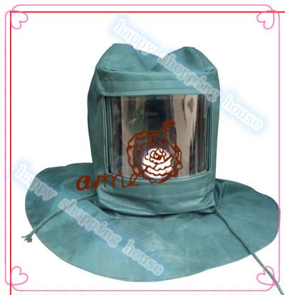 Personal care wear protective cloak hat shawl industrial dust sand mask anti fog anti dust blasting cap(China (Mainland))