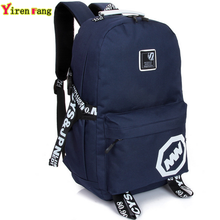 2016 women backpack famous brand mochila school bags for teenagers travel canvas laptop backpack hiking printing men backpack