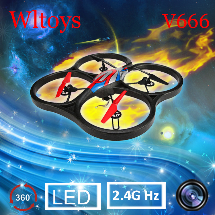 wltoys v666 5.8g fpv 6 axis 4ch rc big quadcopter 2.4G professional large-scale aerial drone 150M Distance Control(China (Mainland))