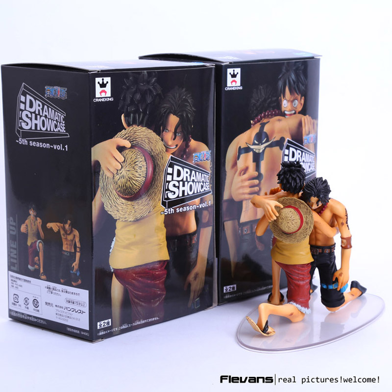 Anime One Piece DRAMATIC SHOWCASE Luffy Ace 5th Season vol.1 PVC Action Figure Collectible Model Toy <br><br>Aliexpress