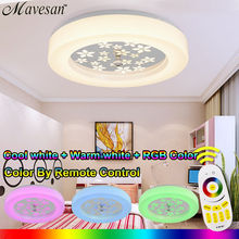 Led Round The Bedroom Balcony Ceiling Lamps Simplicity Modern Led Ceiling Lights For Living Room RGB Ceiling light(China (Mainland))