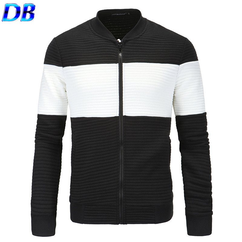 Fashion Brand Men's Jackets New 2016 Patchwork Design Outdoor Casual Sports Cardigan Coat(China (Mainland))