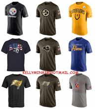 2016 new arrivals,high quality,Pittsburgh Steelers,Los Angel Rams,Tampa Bay Buccaneers,T-shirt,for men ans women,camouflage(China (Mainland))
