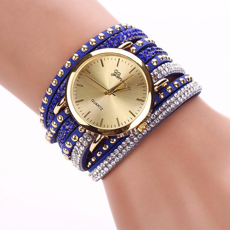 2017 New Arrive Luxury Rhinestone Bracelet Women Watch Quartz Watch Women Wristwatch Relogio Feminino Montre Femme Reloj Mujer