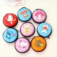 Cute Kawaii Hello Kitty Rilakkuma Silicone Coin Purse Wallet Clutch Purse Women Bag Pouch Card Earphone Keychain Holder Case
