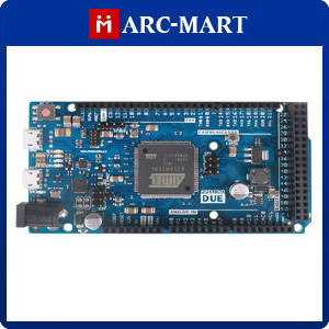 Microcontroller Board for Arduino Due compatible 32 bit ARM 2013 latest version 54 digital input/output pins#CN010