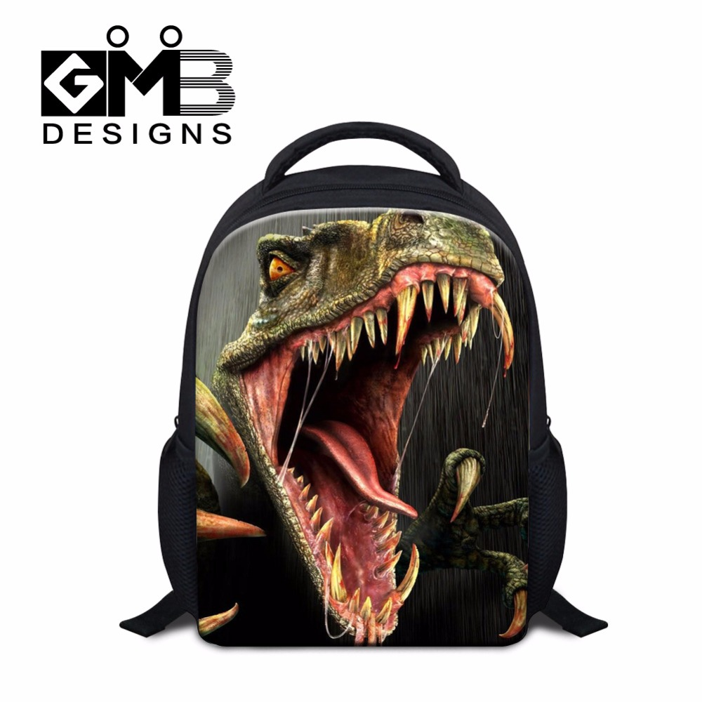 Cool Animal Backpacks for Children Little Boys Dinosaurs School Bags Shoulder Lightweight Backpacking Bags for Kids Cute Bookbag(China (Mainland))