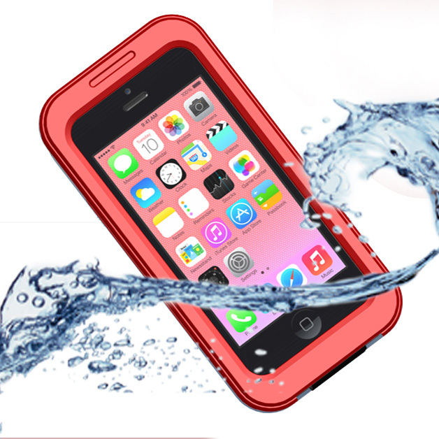 New Waterproof Shockproof Touch Screen Case Cover For Apple iPhone 5S 5 4 4S Muti Colors Mobile Phone Bag(China (Mainland))