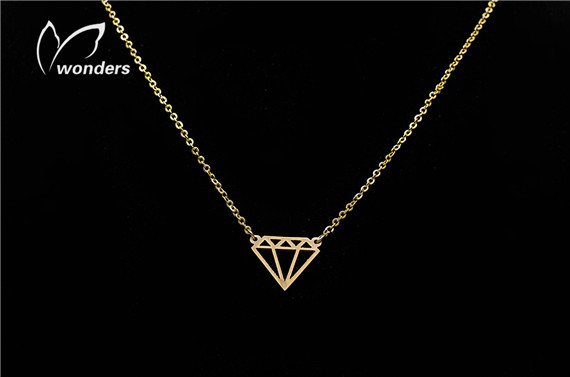 shape necklace in gold /silver  Charm statement<br><br>Aliexpress
