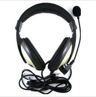 BEST SELLING stereo computer earphone,headset with microphone,free shipping