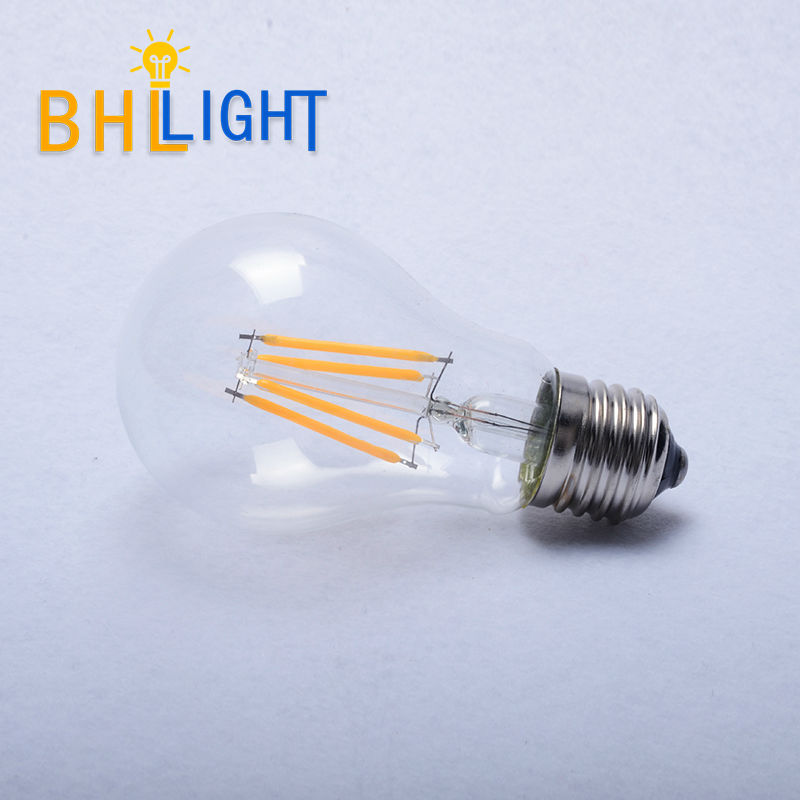 LED E27 filament bulbs Vintage style perfect replace incandescent bulb glass bulb A19 E27 DC12-36 v supports current(China (Mainland))