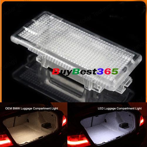 Задняя загрузки из светодиодов багажном отделении отсек ламп освещения для E39 E60 F10 M5 E61 E53