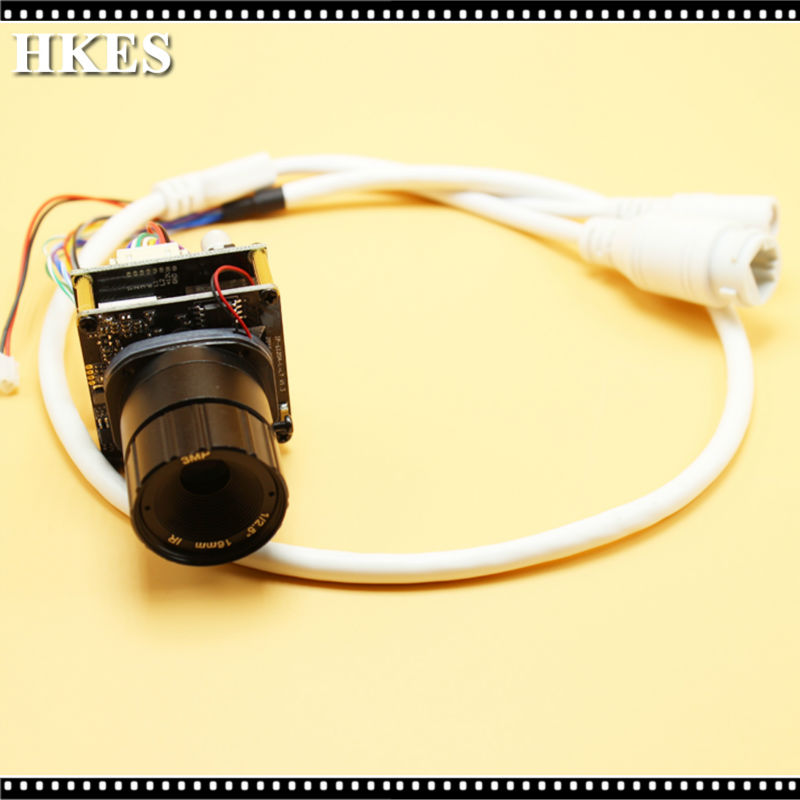 8pcs/lot HD 2.0MP ONVIF Mini POE IP Camera Module CS Lens 8mm 3MP