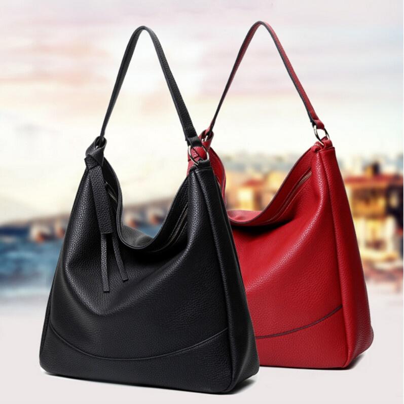 Handbags Women Leather Shoulder Bag Big Hobos Tote Bag Bolsos Carteras Mujer High Quality Ladies Hand Bags Purses Sac A Main(China (Mainland))