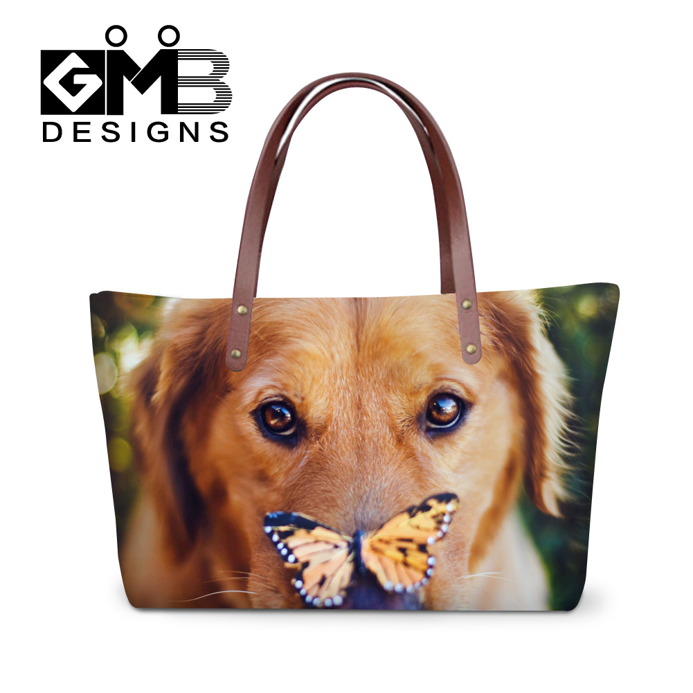 2016 new style simple fashion famous designers brand handbags ladies fashion casual shoulder bag cute dog women's messenger bags(China (Mainland))