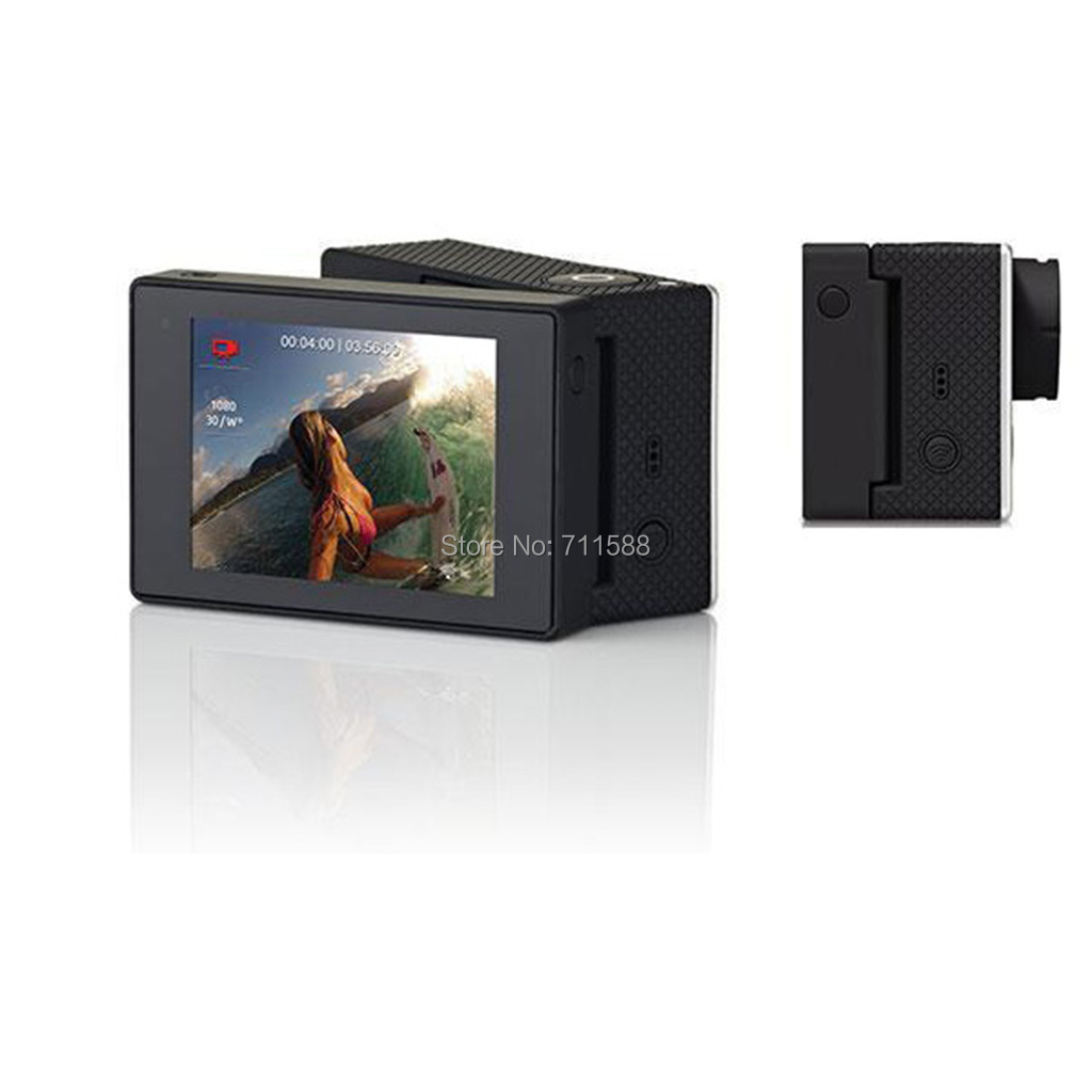 2014 New Arrive Go Pro Accessories Gopro Hero 3 3+ LCD Bacpac Display Screen