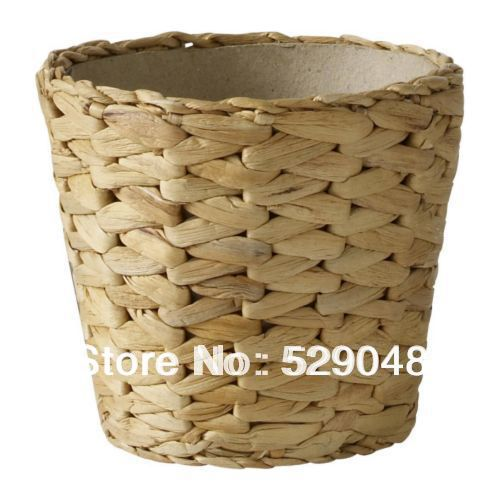 1 piece straw water hyacinth plant pot in flower pots planters from home garden on - Planting hyacinths pots ...