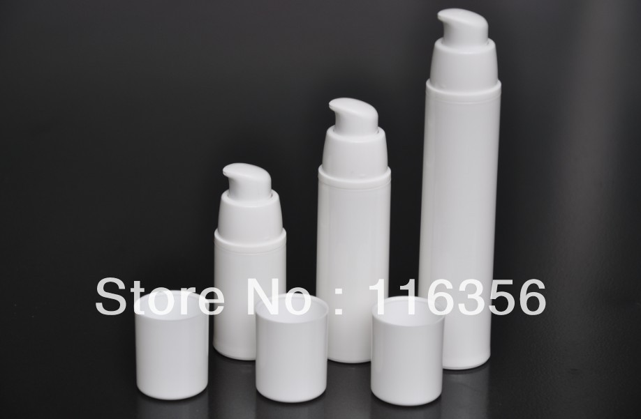 30 ML white airless vacuum pump lotion bottle used for Cosmetic Package<br><br>Aliexpress