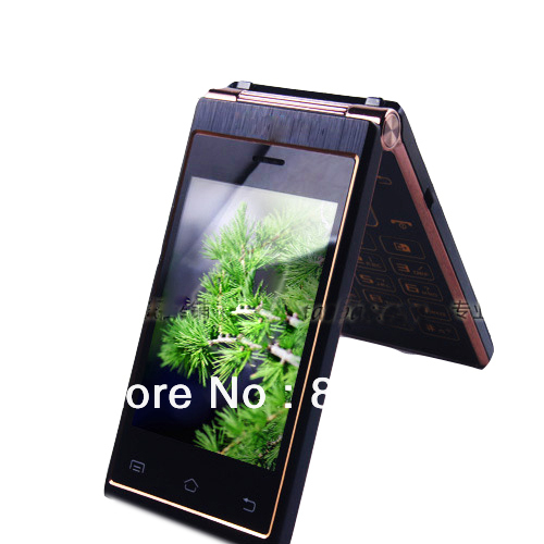Russian w2013 dual sim dual standby dual screen mobile phone w999 male commercial mobile phone flip