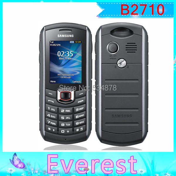 B2710 Unlocked Original Samsung B2710 3G Bluetooth Cell Phone Wholesale Free Shipping(China (Mainland))