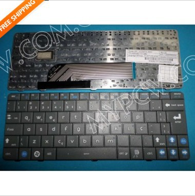 brazil teclado keyboard for cce ec10is2 MP-10G56PA-360C 82B382-FP7280 grey colour(China (Mainland))