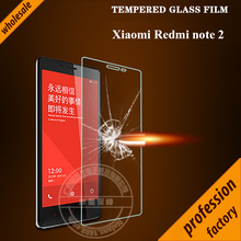 Original Nelanz Brand 9H 0.26mm 2.5d ARC Anti-Explosion HD Tempered Glass Screen Protector For xiaomi redmi note 2