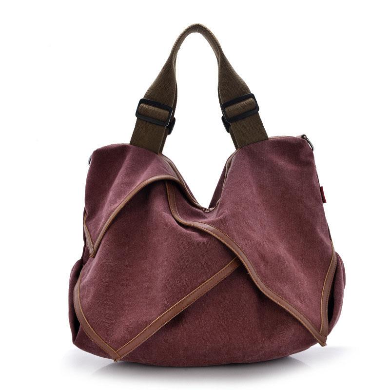 2016 Vintage Canvas Handbag Designer Brand Women Hand Bag Messenger Bags Causal Woman Handbag Bolsos Patchwork Sac a Main Femme(China (Mainland))
