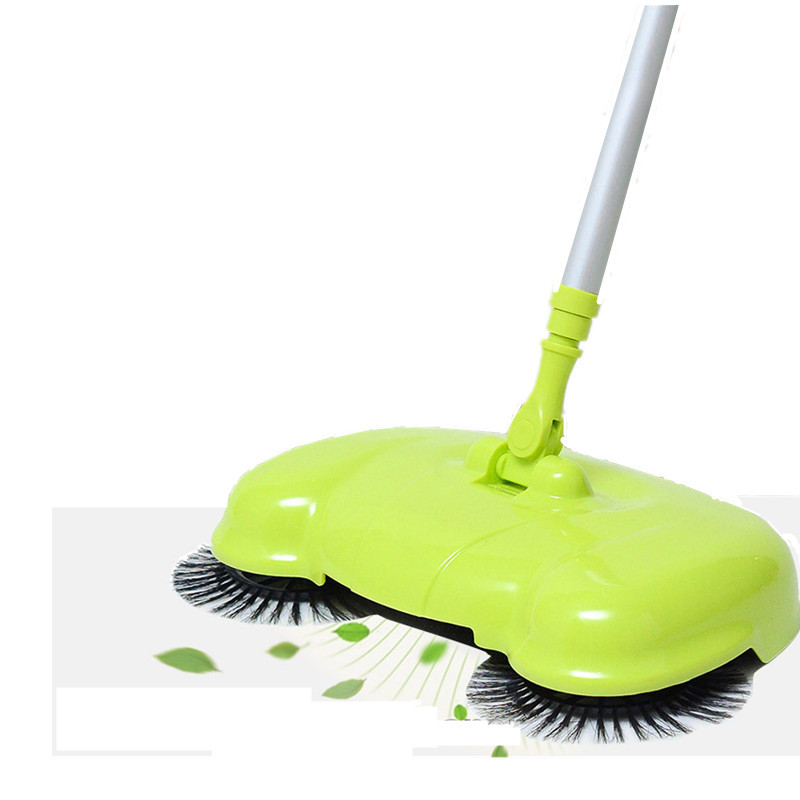 360 Degree Rotatable Cleaner Wireless Handheld Sweeper Broom Mops Hard Floors Dust litter Cleaning Tools(China (Mainland))