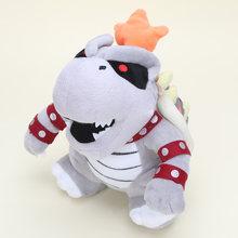 15-30 centímetros Super Mario Land 3D Osso Kubah dragão Reforçar Desenhos Animados Ossos Secos Brinquedo de Pelúcia Bowser Koopa pelúcia macio recheado bonecas Brinquedos(China)