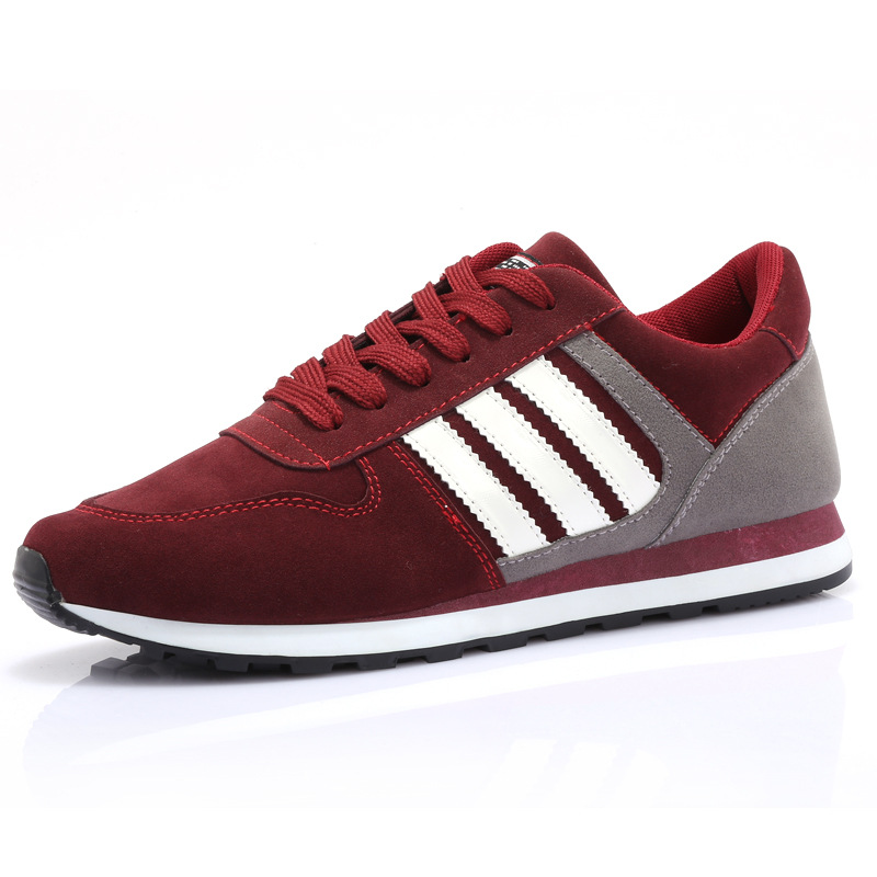 2015 New Men's Fashion Casual Shoes Spring Breathable Non Slip Wear Running Shoes Mens Trainers men sneakers Students shoes(China (Mainland))