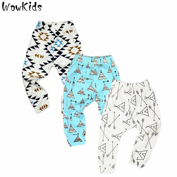 3 PCS/LOT Baby Pants Summer &Autumn Fashion Cotton Infant Pants Newborn Baby Boy Pants Baby Girl Clothing 0-24 M Baby Trousers