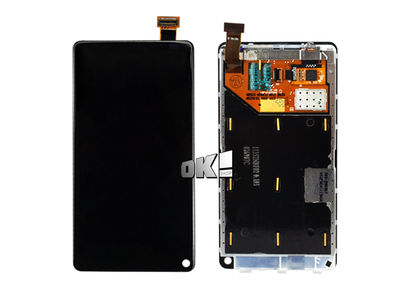 Good Working Replacement LCD Display For Nokia N9 LCD Screen with Touch Digitizer Assembly Free Shipping(China (Mainland))
