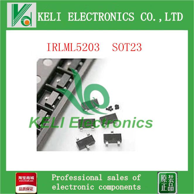 Здесь можно купить  Free Shipping 500PCS/LOT IRLML5203 ML5203 SOT23 IR 100% NEW ORIGINAL  Электронные компоненты и материалы