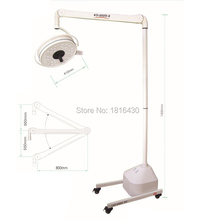 High Quality Medical Light 108W Mobile LED Surgical Medical Examination Light Shadowless Operation Lamp Cold Light CE/FDA(China (Mainland))
