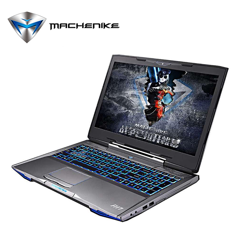 Machenike F117-F6 Laptop Computer SSD 240GB Aluminium Gaming Notebook Intel Core i7 GTX1060 6GB GDDR5 128bit Ram 8GB 15.6''1080P(China (Mainland))