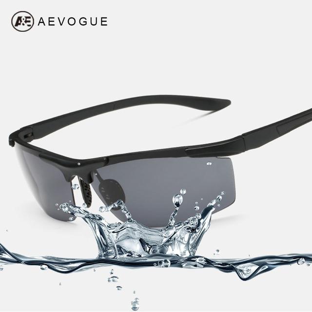 Aevogue поляризованных солнцезащитных очков мужчин поляроидный вождение солнцезащитные очки мужская очки óculos De Sol Masculino AE0304