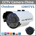 Newest Analog High Definition Surveillance 1200TVL Bullet CCTV Camera 6pcs Leds Security Indoor Outdoor IR 50m