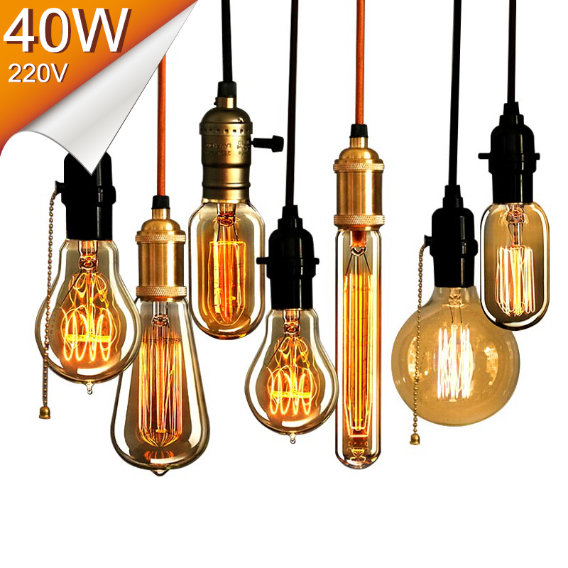 Online get cheap decorative filament bulbs for Vintage lampen
