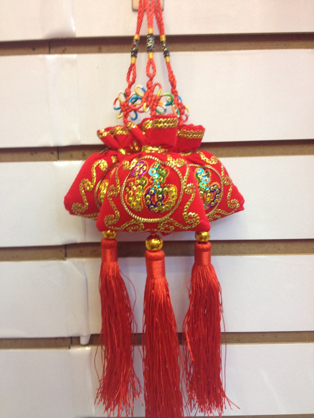 10pcs/lot Chinese New Year gift features red sachet.meaning auspicious happiness,Festivals,parties send friends good gift.(China (Mainland))