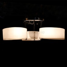 110V-120V New Modern Crystal Fashion Dining Room Bedroom Ceiling Lights 3 Lamps 2015 New Free Shipping us6(China (Mainland))